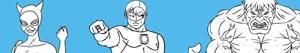 Coloriages Super-héros à colorier