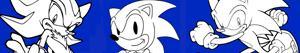 Coloriages Sonic à colorier
