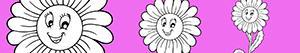 Coloriages Fleur à colorier