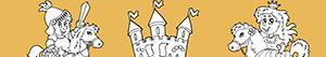 Coloriages Aventure au Moyen Age à colorier