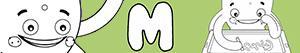 Coloriages Prénoms de Garçon avec M à colorier