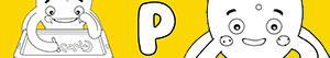 Coloriages Prénoms de Garçon avec P à colorier