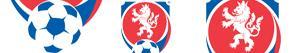 Coloriages Emblèmes de Ligue tchèque de football à colorier